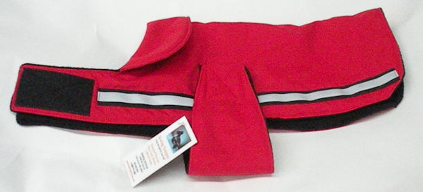 Handmade Waterproof Fleece Lined Nylon Dog Coat