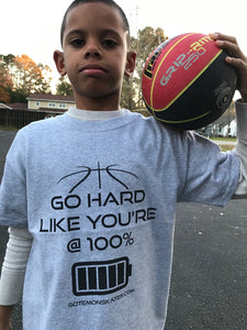 GO HARD 100% YOUTH