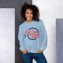 Load image into Gallery viewer, Got'em on Skates Fashion-Girl Sweatshirt