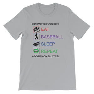 GOS eat, baseball, sleep, repeat