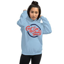 Load image into Gallery viewer, Got'em on Skates Fashion-Girl Hoodie