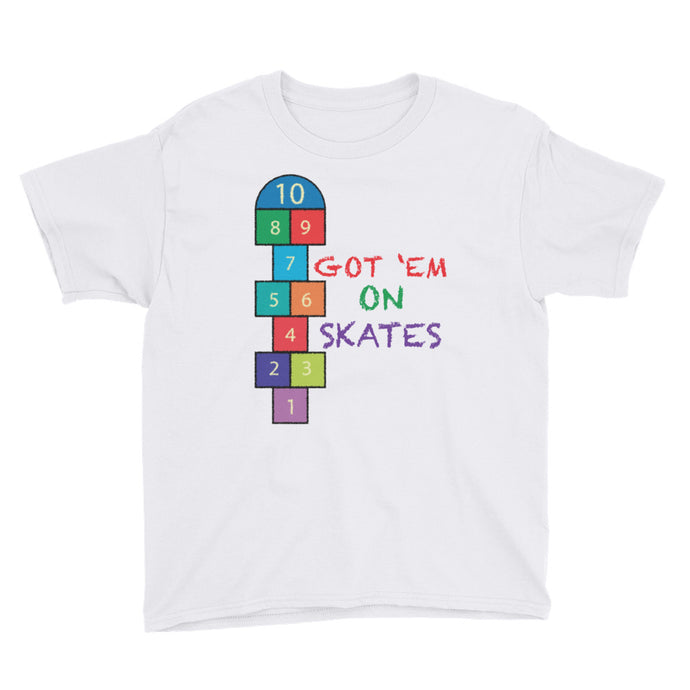 Hopscotch for Youth Short Sleeve T-Shirt