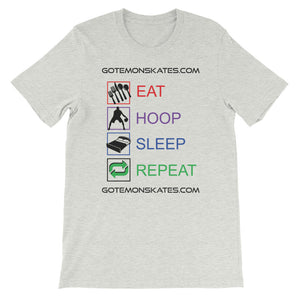 Eat Hoop Sleep Repeat Basketball