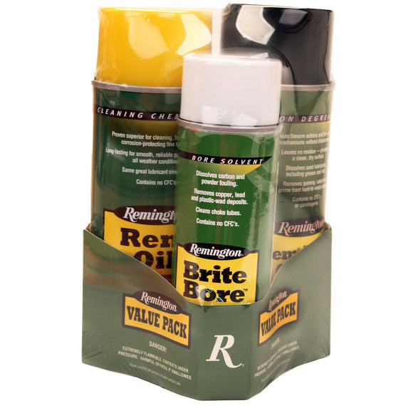 Buy Remington Accessories - Remington Oil, Brite Bore, 10 oz. Aerosols in Cleaning Supplies/Gun Care online at Highball Outfitters - $19.95