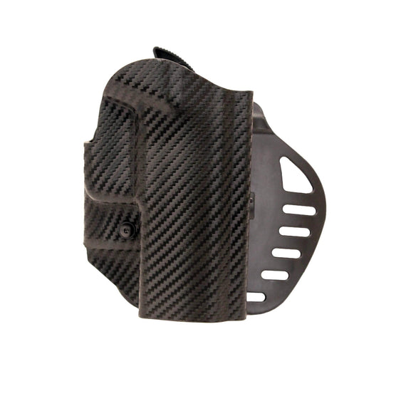 Buy Hogue - Powerspeed ARS Stage 1 CarbonFiber Weave Holster - C14, Sig P228-P225 Right Hand in Holsters & Accessories online at Highball Outfitters - $39.96