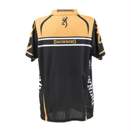 Buy Browning - Team Browning Polo Shirt Small, Gold-Black in Clothing/Apparel online at Highball Outfitters - $54.95