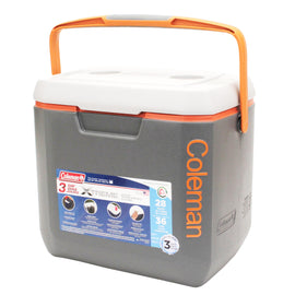 Buy Cooler - Dark Gray-Orange-Light Grey, Overmold, 28 Quart in Cases & Bags Specialty online at Highball Outfitters - $36.95