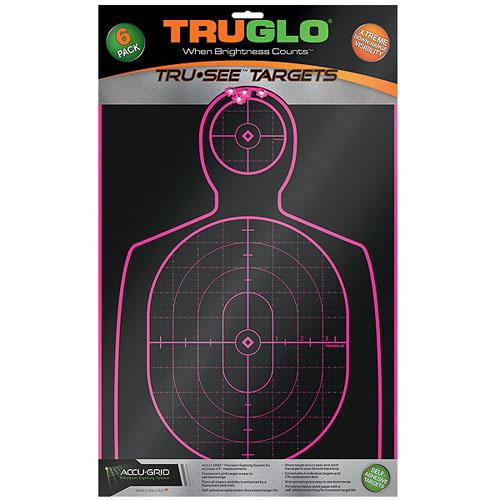 "Buy Truglo - Handgun Target 12x18"" - 6 Pack, Pink in Targets & Throwers online at Highball Outfitters - $13.95"