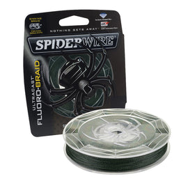 "Buy Spiderwire - Ultracast Fluoro-Braid Superline Line Spool - 300 Yards, 0.013"" Diameter, 40 lbs Breaking Strength, Moss Green in Fishing online at Highball Outfitters - $35.95"