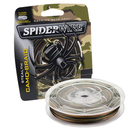 "Buy Spiderwire - Stealth Braid Superline Line Spool - 300 Yards, 0.008"" Diameter, 10 lbs Break Strength, Camouflage in Fishing online at Highball Outfitters - $24.99"