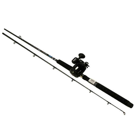 "Buy Okuma - Great Lakes Trolling Combo - 7'6"" Length, 2 Piece Rod, Medium-Light Action, 2BB Bearings in Fishing online at Highball Outfitters - $83.95"