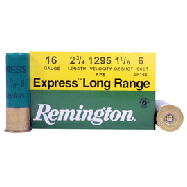 "Buy Remington - 16 Gauge - 2 3-4"", 1 1-8 oz, 5 Shot, Per 25 in Ammunition online at Highball Outfitters - $23.95"