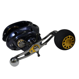 Lexa 300 Type HD Baitcasting Reel, 6.3:1 Gear Ratio, 22 lb Max Drag, RH