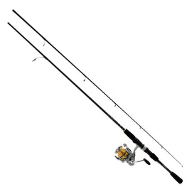 Buy Daiwa - Revros Freshwater Spinning Combo - 4RB+1RB Bearings, 7' Length, 2 Piece Rod, Medium Power in Fishing online at Highball Outfitters - $66.95