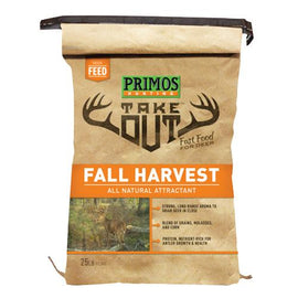 Buy Primos - Take Out - Out Fall Harvest Deer Attractant Powder, 25 lb Bag in Feeders Bait & Seed online at Highball Outfitters - $21.95