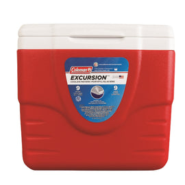 Cooler - 9-Quart without Tray, Red