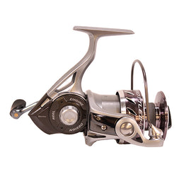 "Zebco - Quantum - Throttle Spinning Reel - 40. 5.3:1 Gear Ratio, 35"" Retrieve Rate, 11 Bearings, Ambidextrous"
