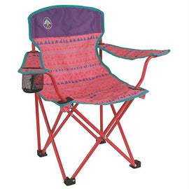 Coleman - Youth Quad Chair, Pink