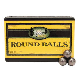 "Buy Speer - Muzzleloading Lead Round Balls - 0.457"" Diameter, 143 Grains, Per 100 in Muzzleloading online at Highball Outfitters - $13.95"