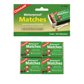 Waterproof Matches - (Per 4)