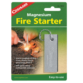 Buy Coghlans - Magnesium Fire Starter in Fire Starting online at Highball Outfitters - $5.68