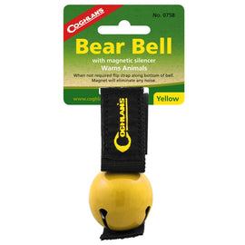 Bear Bell - Magnetic, Yellow