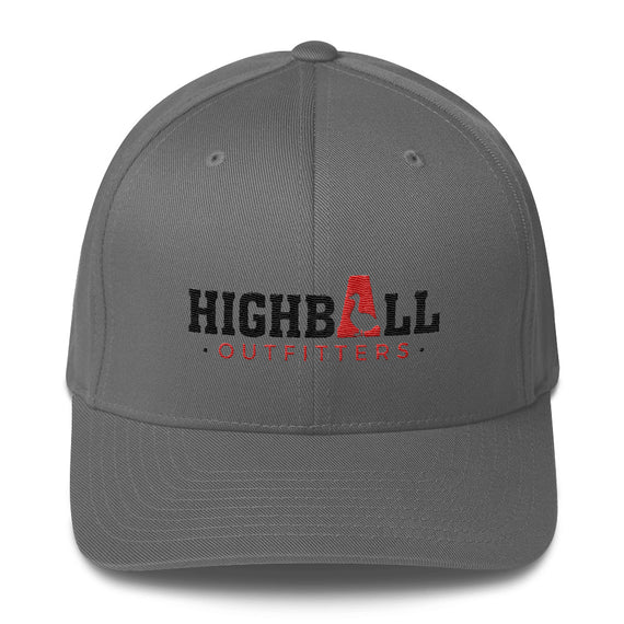 Structured Twill Cap - Highball Outfitters