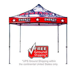 10' Custom Merch Tent