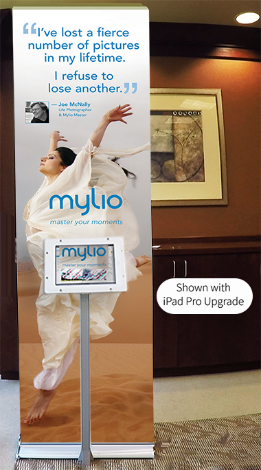 iPad Banner Stand