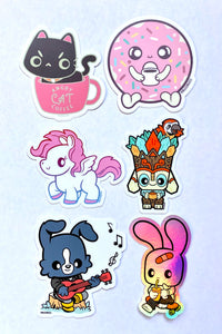 Bleenkies Sticker Pack by Oscar Rosales