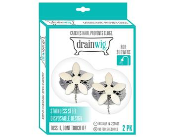Original DrainWig Daisy Design 2-Pack (Case Pack of 36 units)