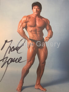 "Autographed Zane Muscular Pose - 8""w x 10""h"