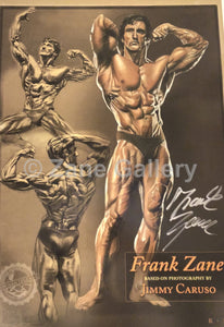 "Frank Zane Standing/Seated Profile Print - 13"" w x 19"" h"