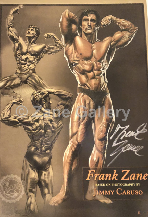 Frank Zane Standing/Seated Profile Print - 13