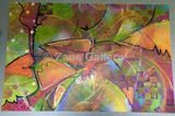 "Kaleidoscope of Color - 60"" w x 40"" h"