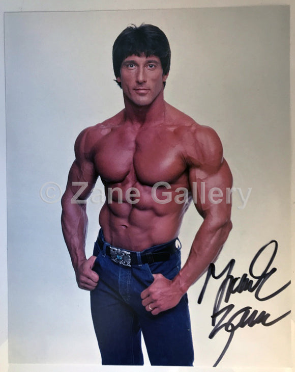 Frank Zane 8″ x 10″ Autographed Photo (1979 in Jeans)