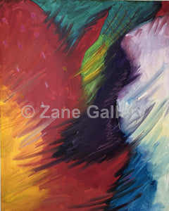 "Wings of an Angel  - 20"" w x 16"" h"