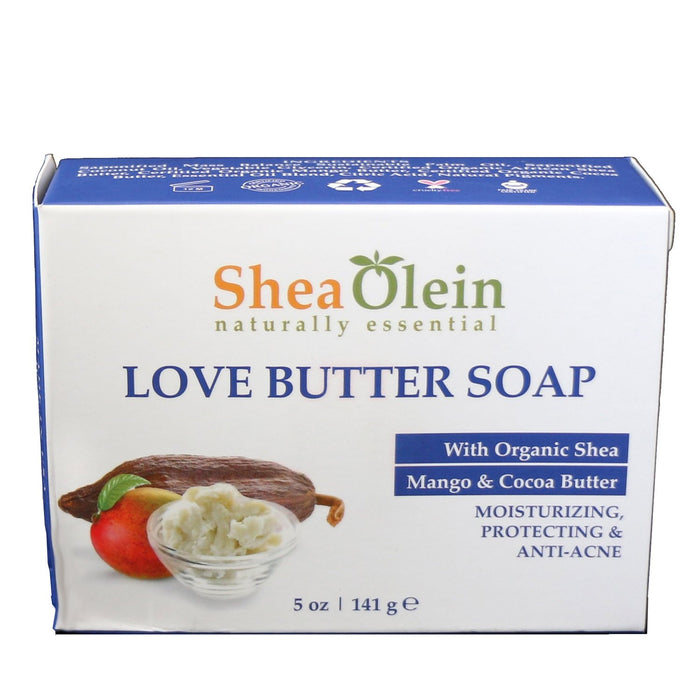 Love Butter Soap With Organic Shea, Mango & Cocoa Butter