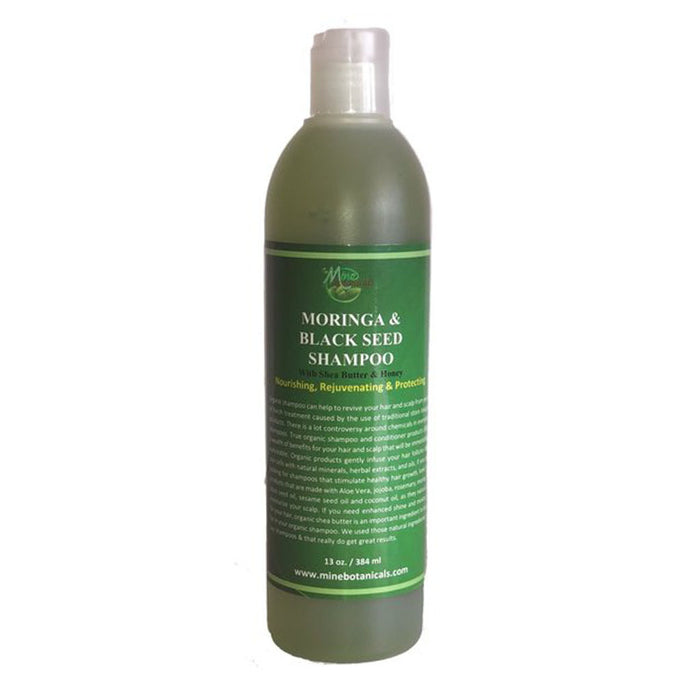 Moringa & Black Seed Shampoo - With Shea Butter & Honey