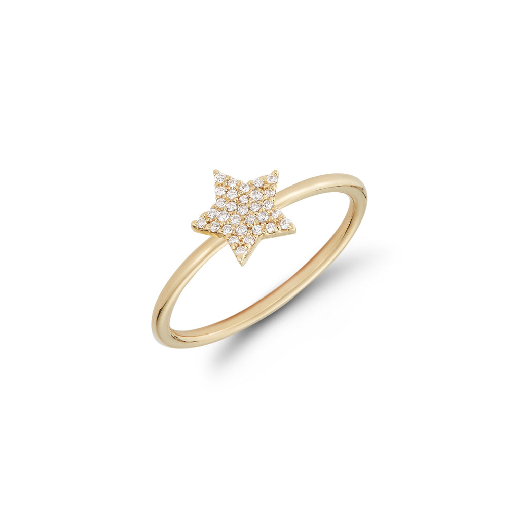 Mini Diamond Star Ring