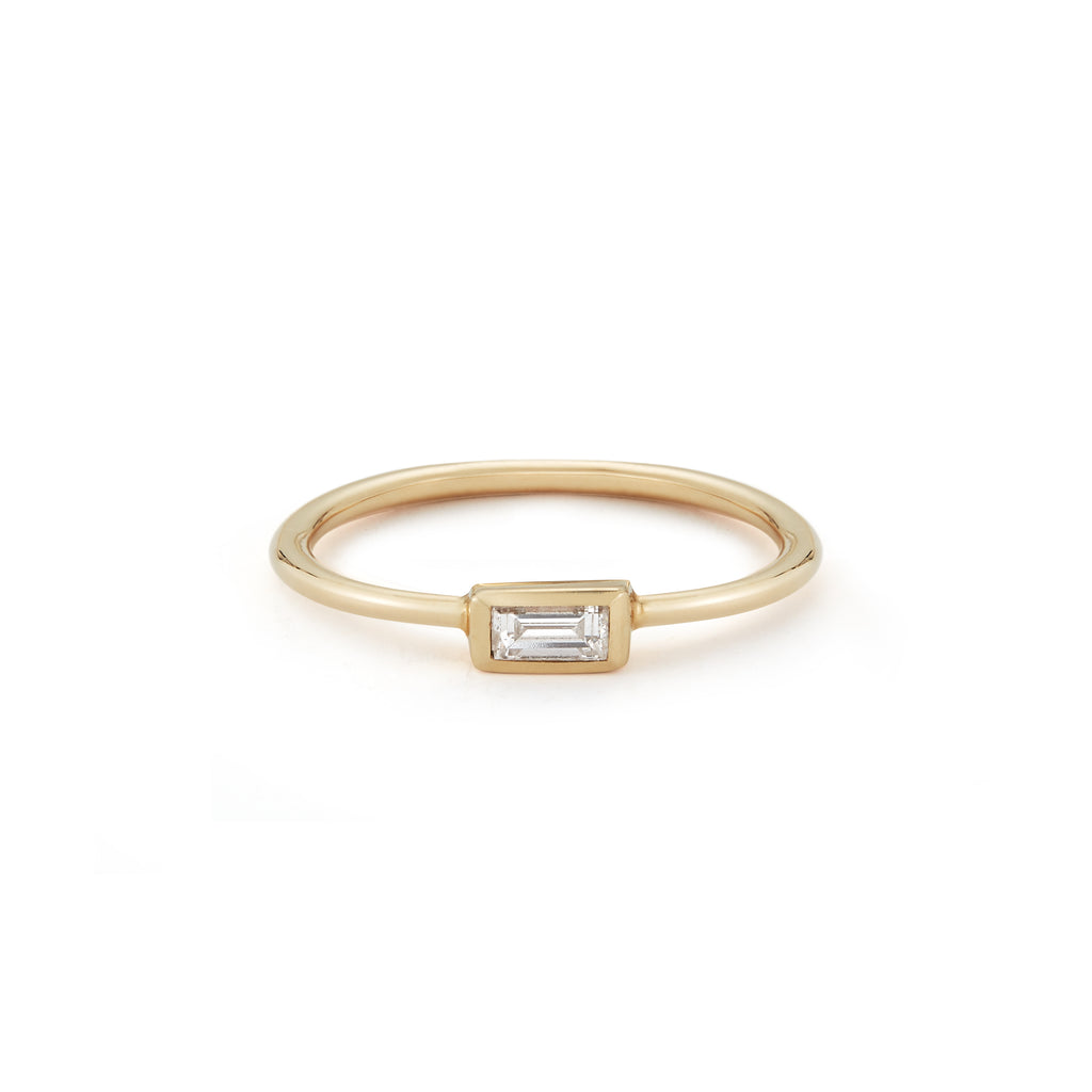 Small Baguette Ring-Diamond