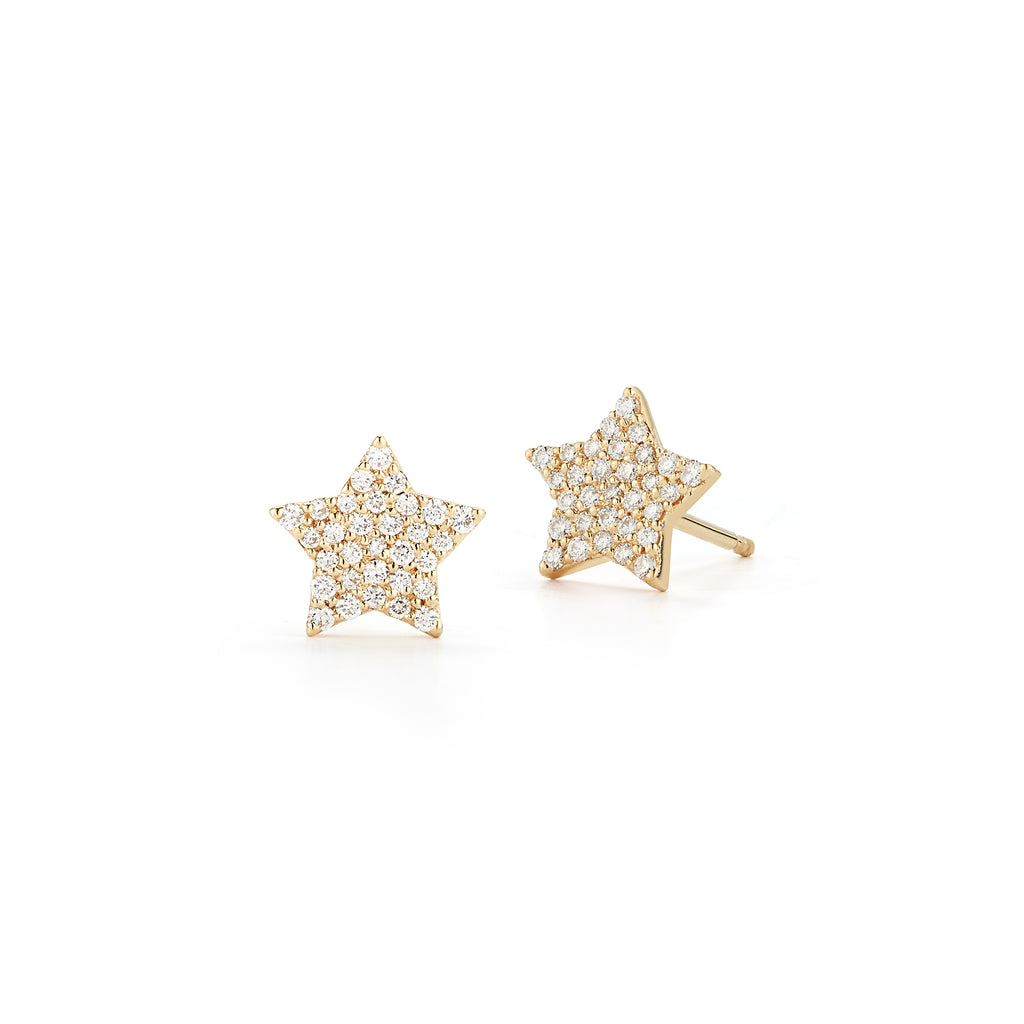 Mini Diamond STAR STUDS