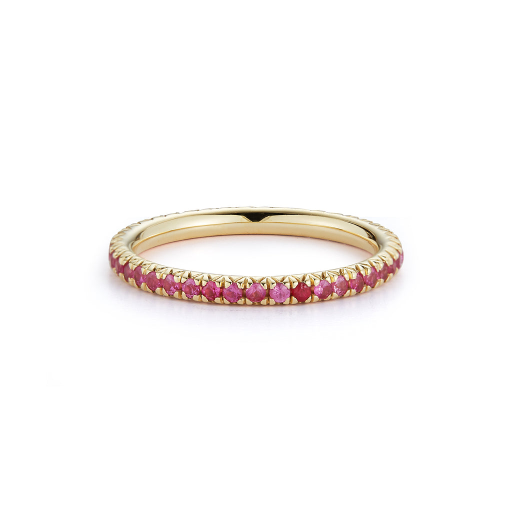"Pink Sapphire ""Forever"" Ring"