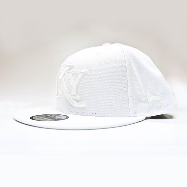 White on White Snap Back