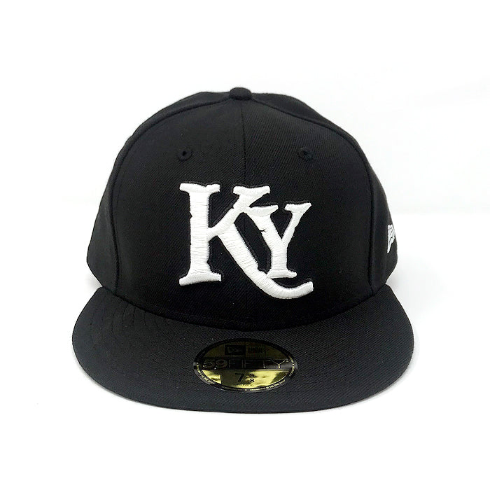 Kids Black Fitted Hat