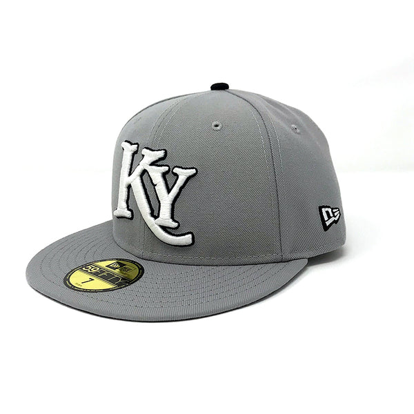 Kids Gray Fitted Hat
