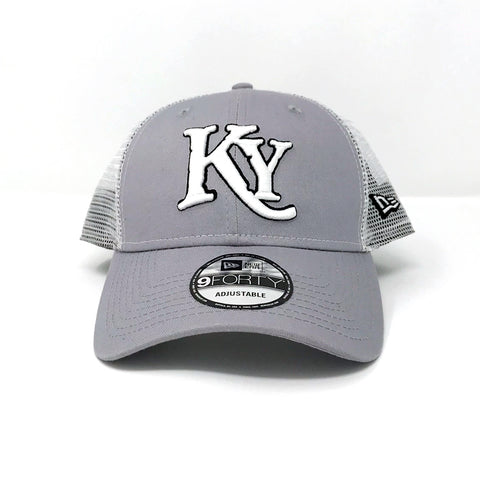 Gray Trucker Hat
