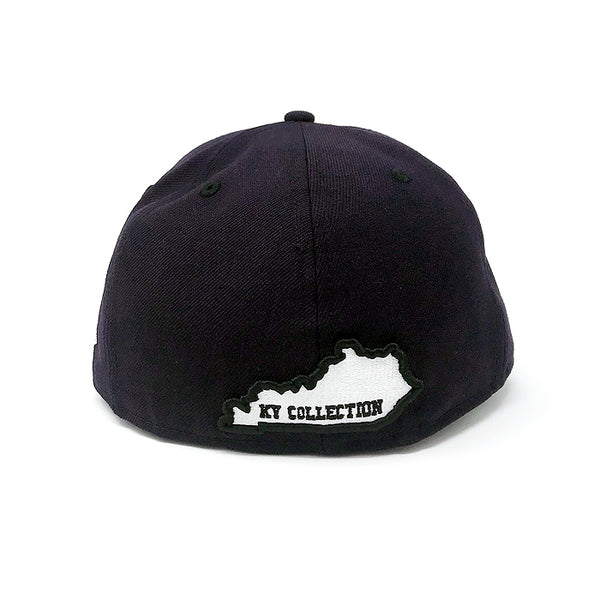 Navy Fitted Hat