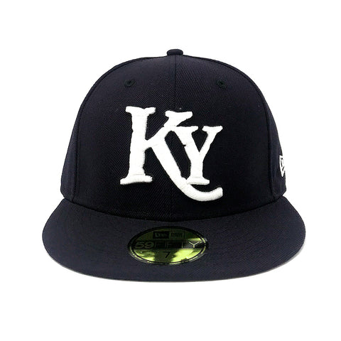 Kids Navy Fitted Hat