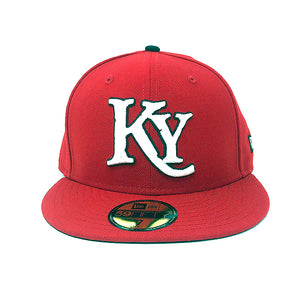 Kids Red Fitted Hat